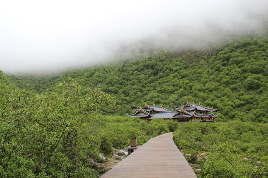 Природный заповедник Хуанлун