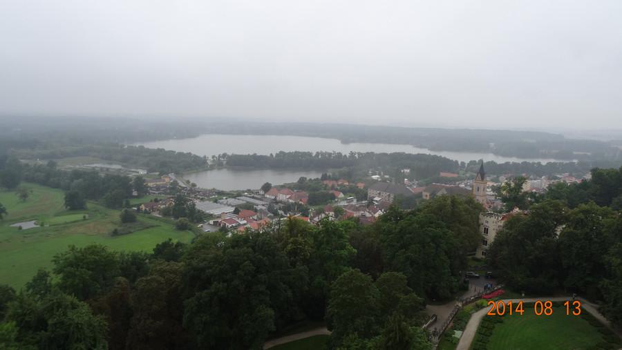 Осмотр замка Глубока-над-Влтавой