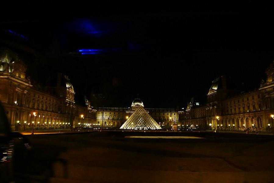 Прогулка по вечернему Парижу летом