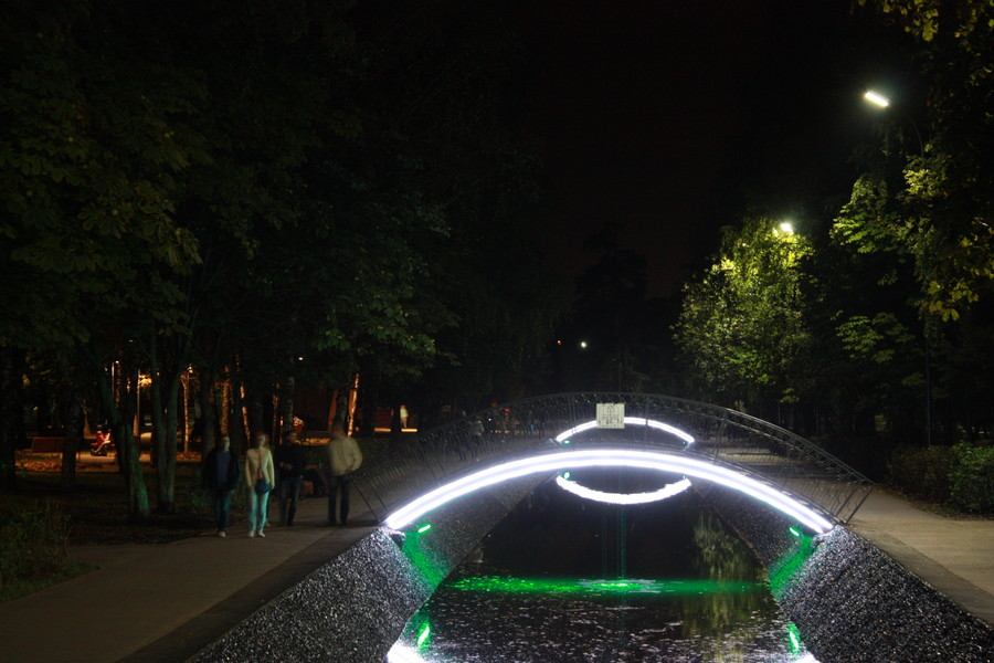 Казань. Сентябрь. Парк Урицкого. Вечерняя прогулка :)