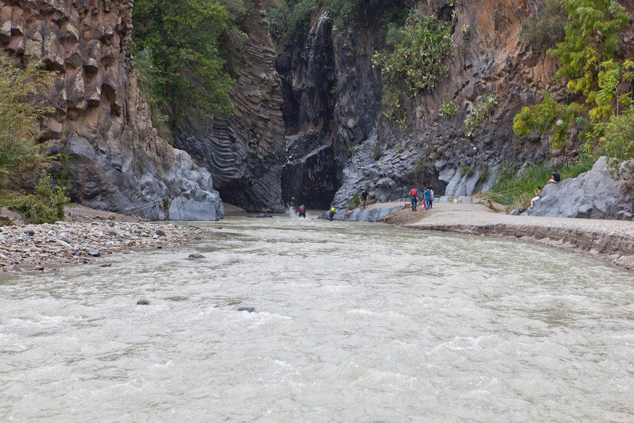 Ущелье Алькантара, Сицилия, Италия