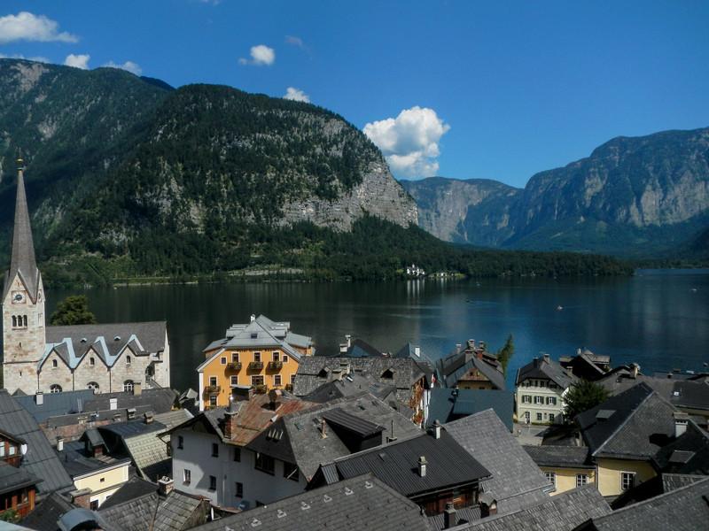 Гальштат - маленький городок в австрийских Альпах