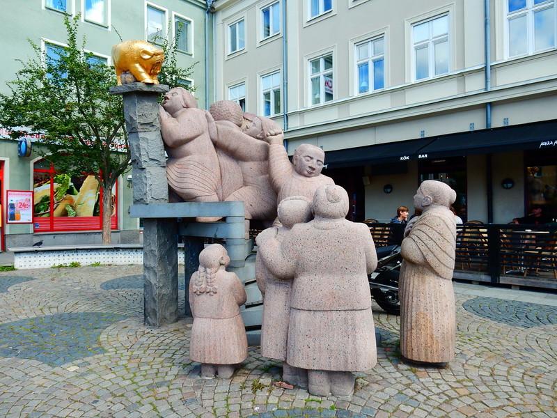 По Швеции. Норчепинг- Уппсала, Дворцово-парковый ансамбль Дроттнингхольм