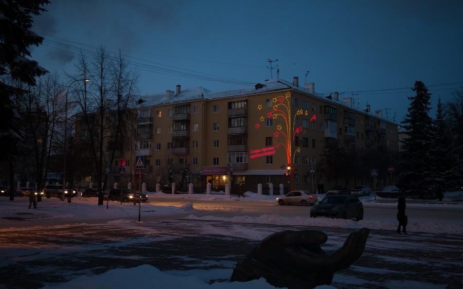 А у нас в Сибири уже настоящая зима. Кемерово
