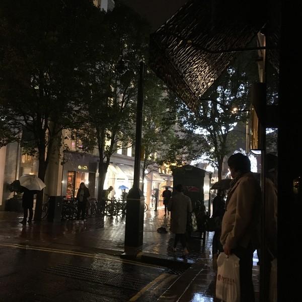 По вечерним улицам Лондона