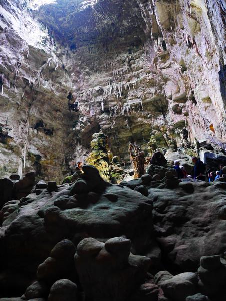 На очереди комплекс пещер - Гроты ди Кастеллана. Юг италии