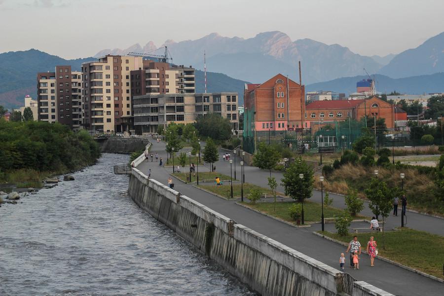 Северная Осетия - Алания. Владикавказ и его окрестности