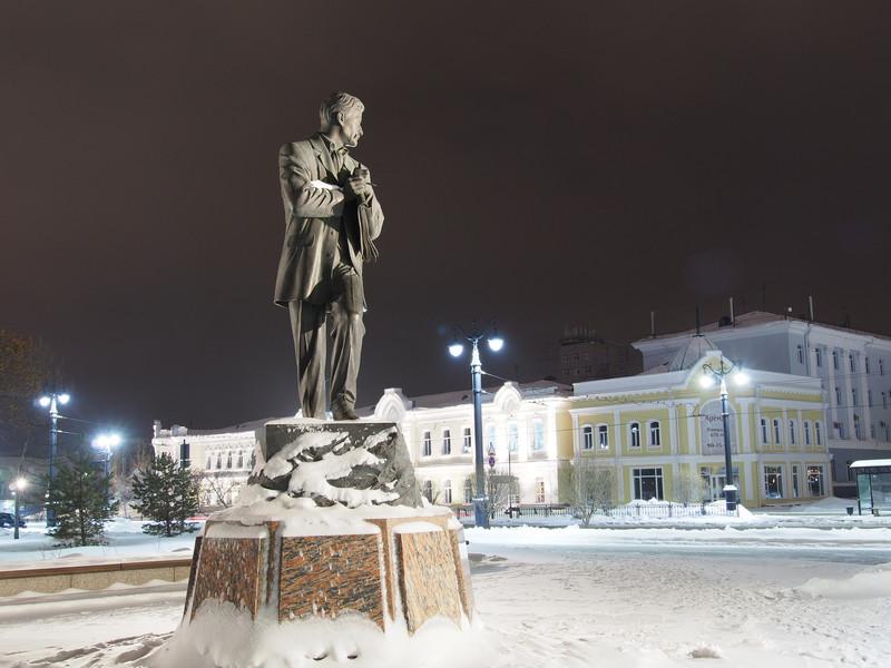 Огни вечернего Омска