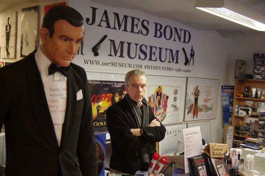 Музей Джеймса Бонда в Нюбру, Швеция
