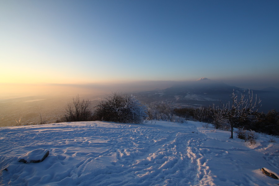 Гора Машук. Закат