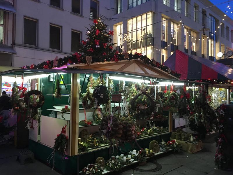 Рождественская ярмарка в Саарбрю́ккене 2016