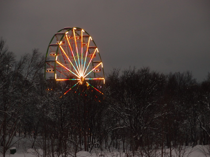 21 декабря - день зимнего солнцестояния. Самый темный день года в Мурманске