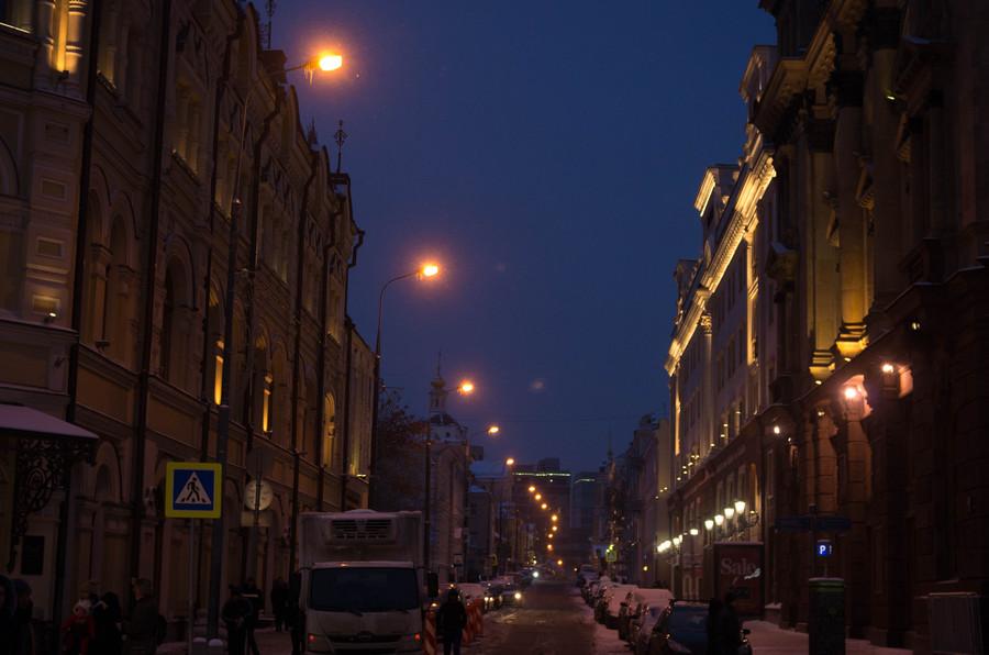 Огни праздничной Москвы!