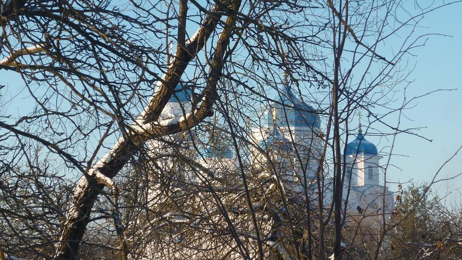 Морозный, январский день в Торжке