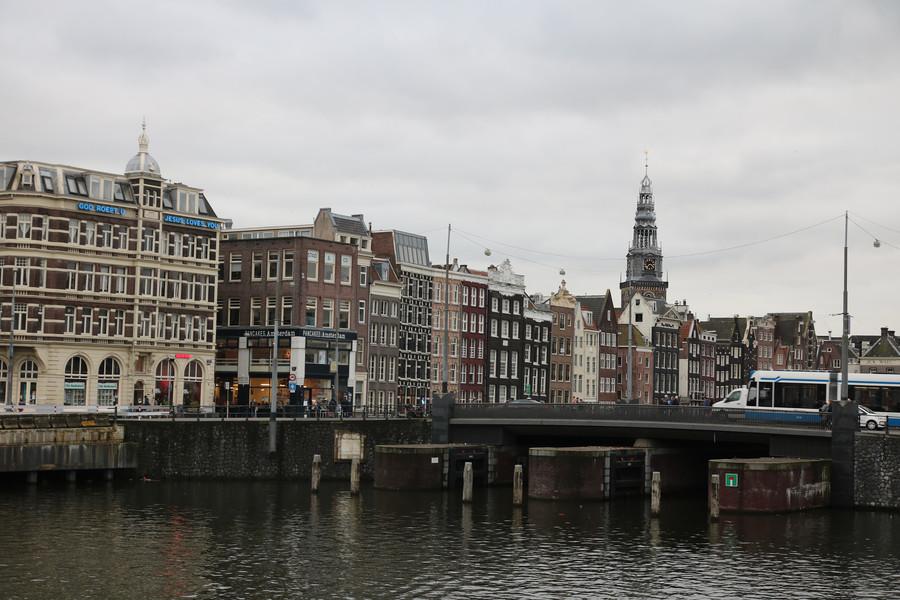 Два дня в Амстердаме в январе