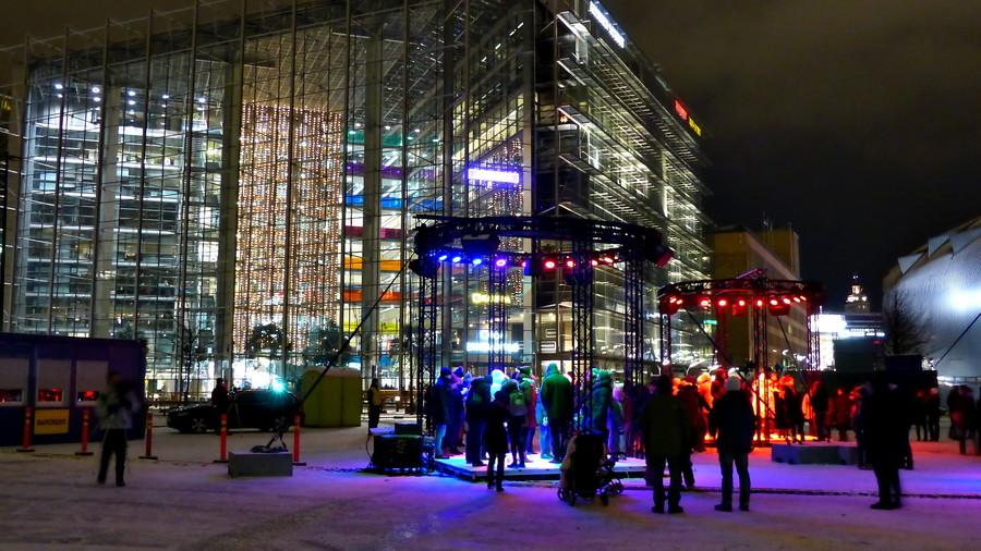 Фестиваль света Lux Helsinki 2017