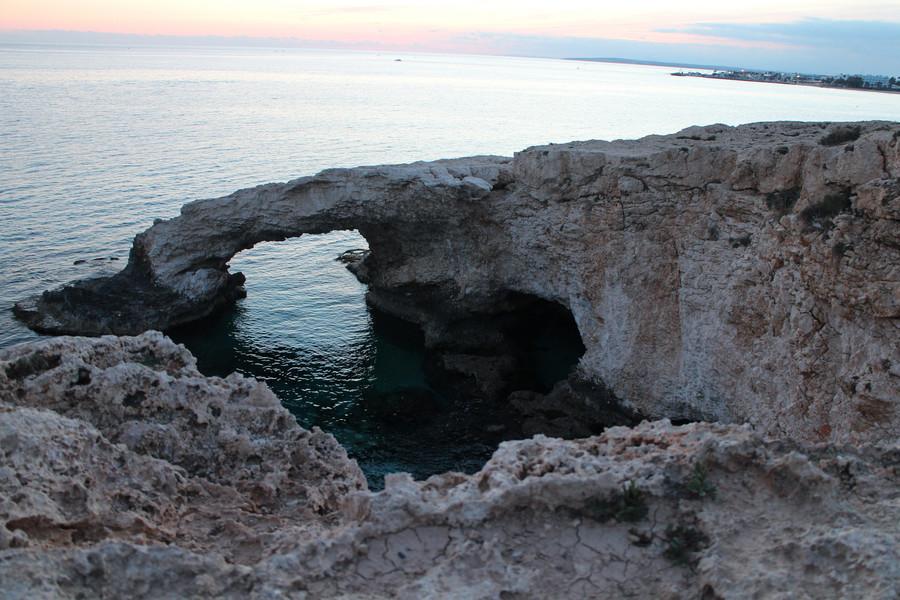 Прогулка на закате, Кипр