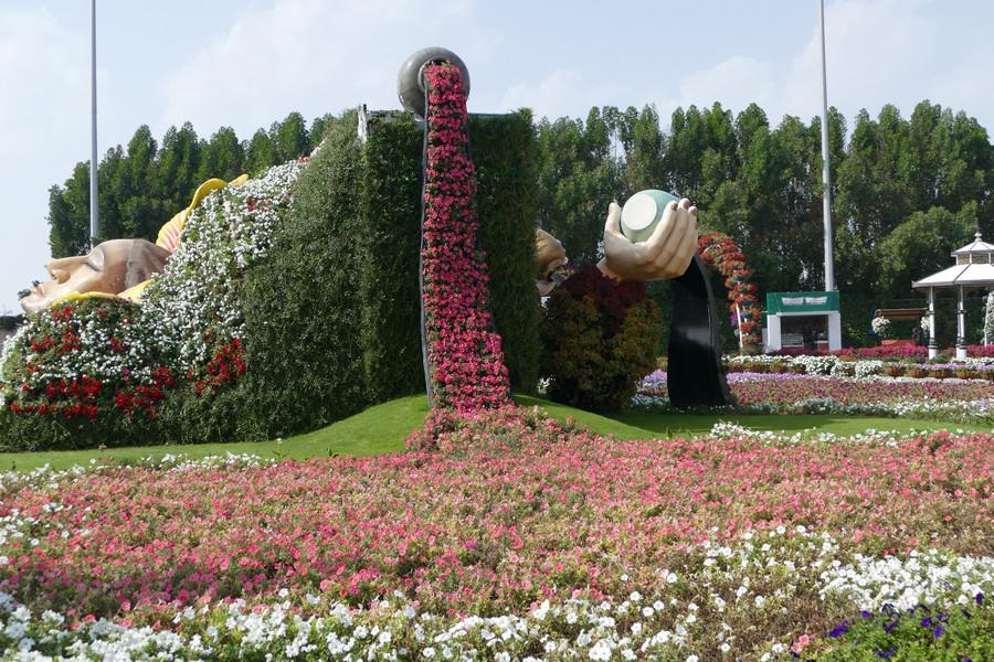 Сад чудес в Дубае