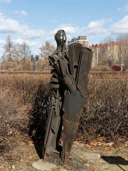 Прогулка по парку искусств Музеон