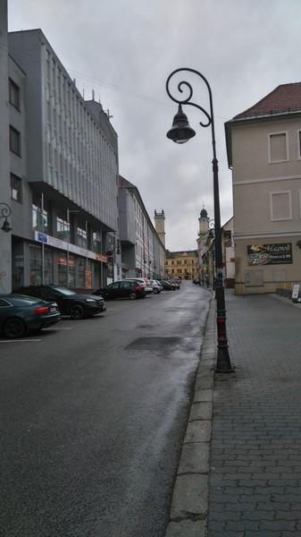 Прогулка по улицам Банской Быстрицы
