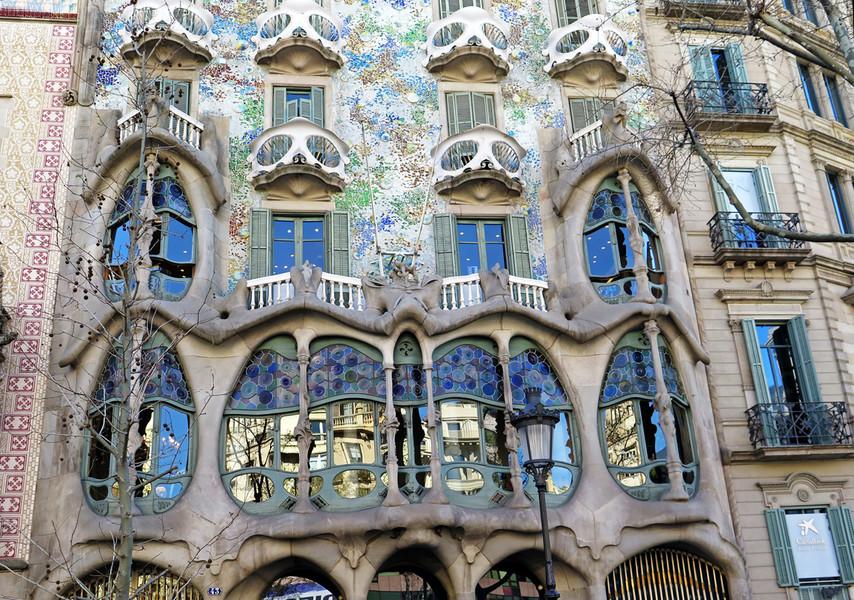 Теплые, весенние деньки в Барселоне