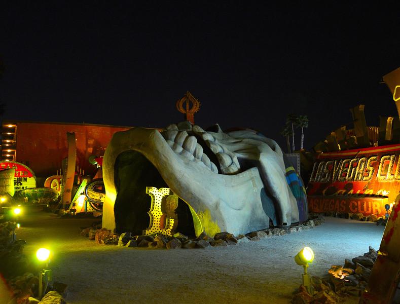 Музей Неоновых вывесок в Лас-Вегасе