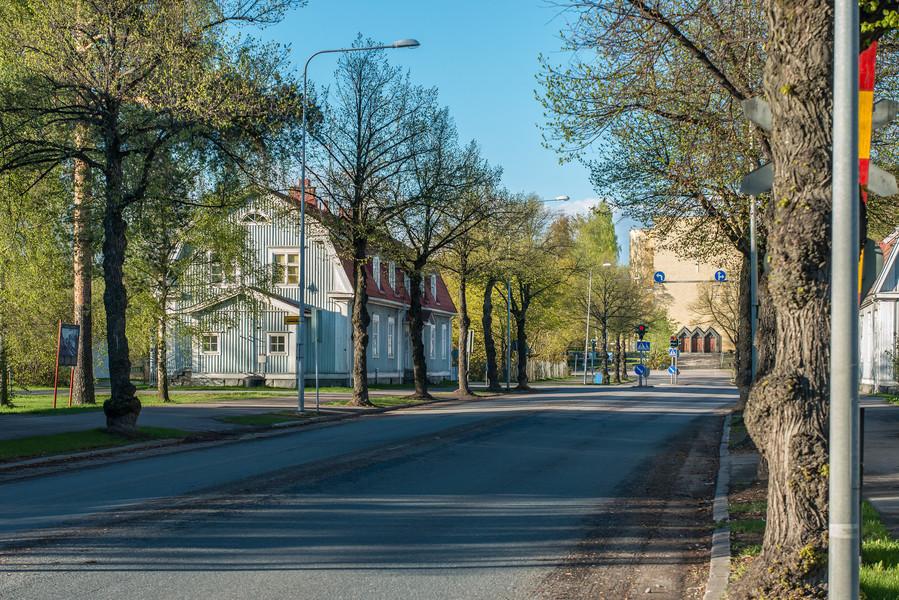 Весна в Варкаусе. Финляндия