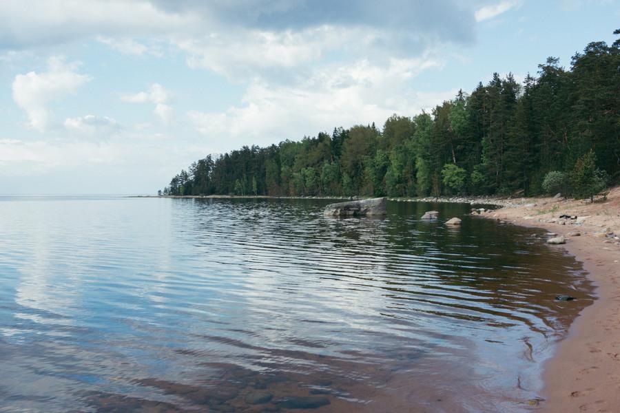 Остров Коневец на Ладожском озере