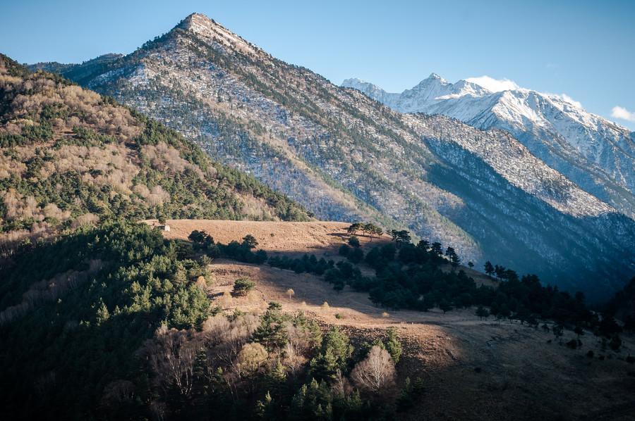Продолжаем путешествие по горной Ингушетии. Храм Тхаба-Ерды