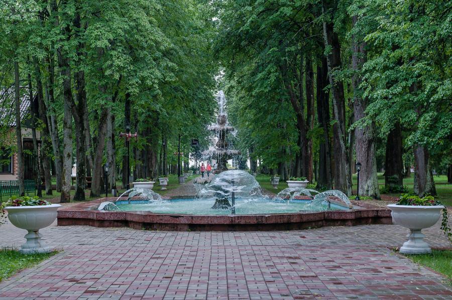 Парк усадьбы Рождествено. Истринский район