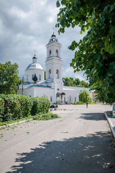 Таруса - старинный русский город в Калужской области