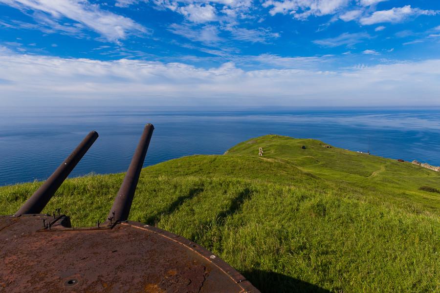 Остров Аскольд в Японском море