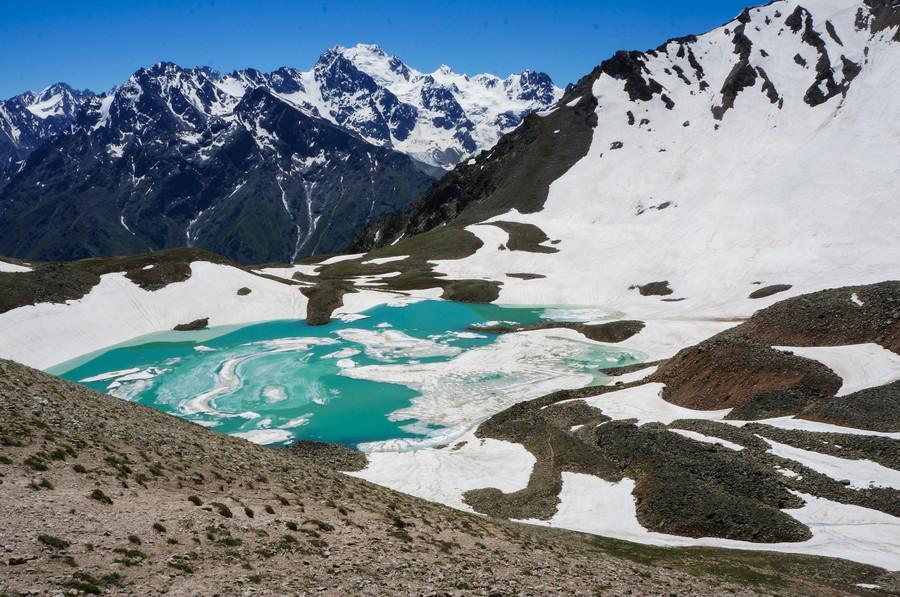 Поход к озеру Гийбашкель от Верхней Балкарии