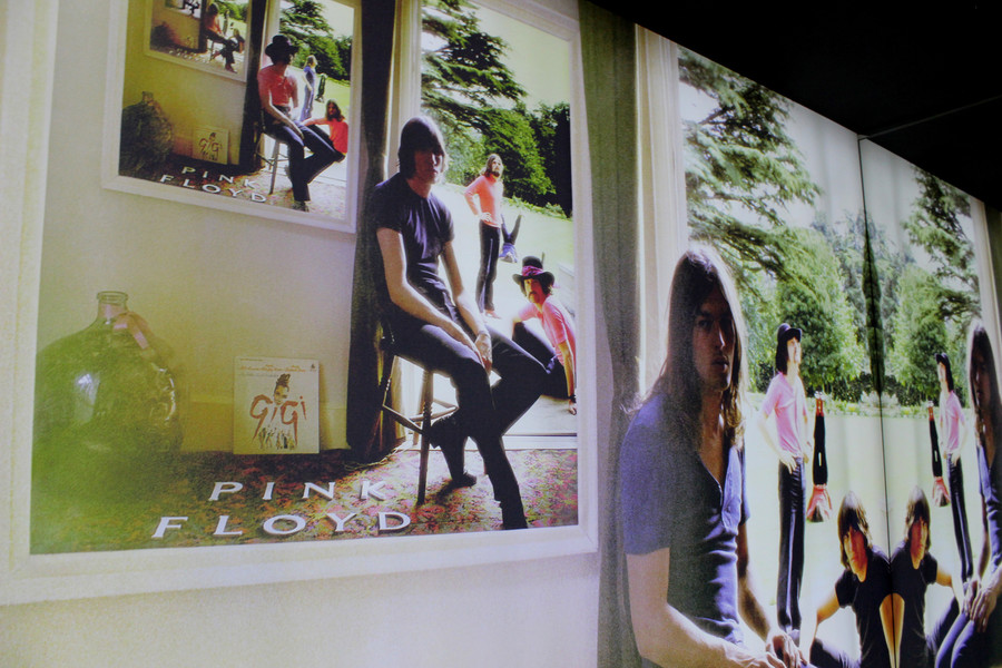 """Выставка Пинк Флойд: """"Их бренные останки"""" в Лондоне"""