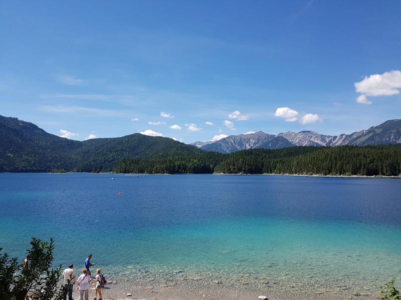 Альпийское озеро Айбзее