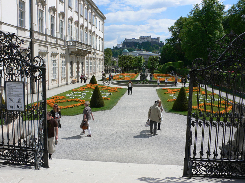 Сад Мирабель в Зальцбурге