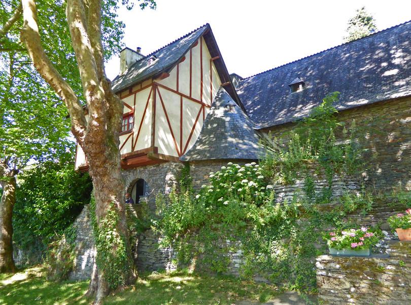 Бретонская деревня Рошфор-ан-Тер