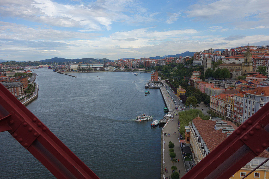 Бискайский мост в Португалете