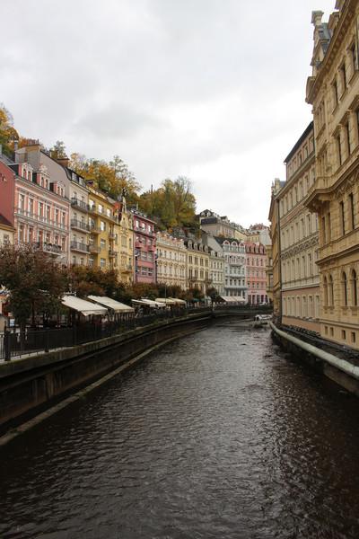 Осень в Карловых Варах, Чехия