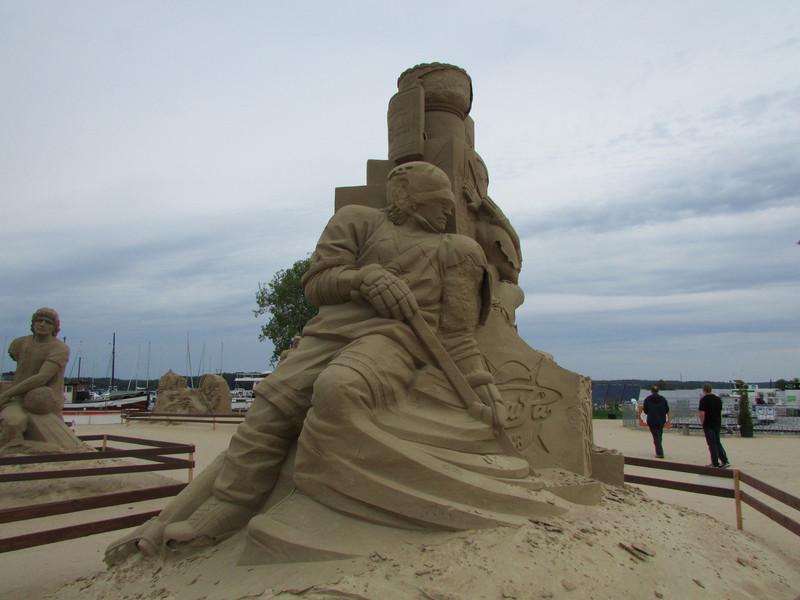 Песчаные фигуры Лаппеенранты