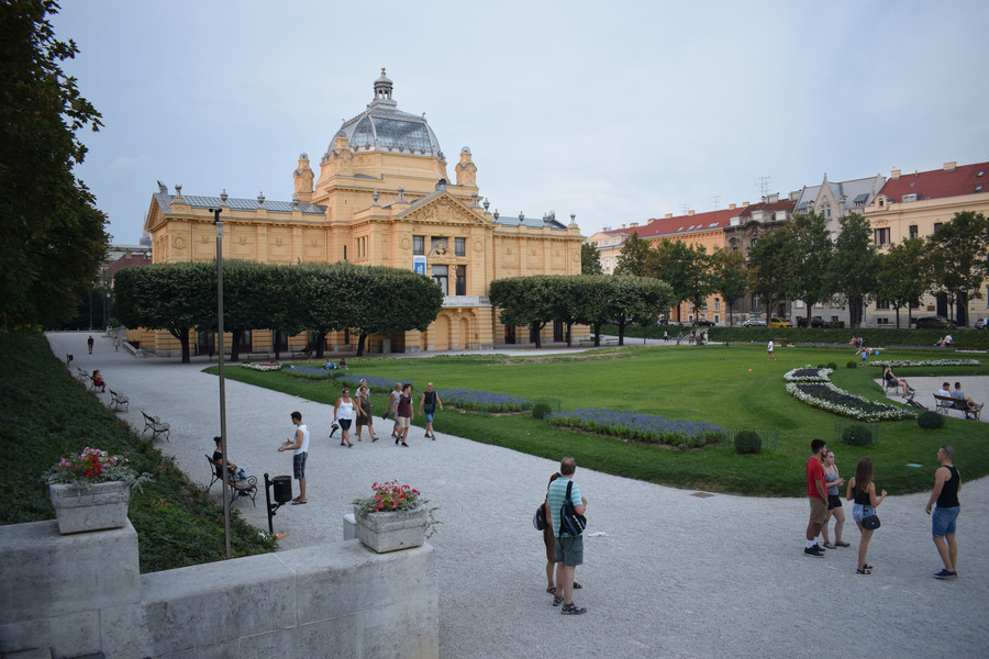 Загреб — столица и красивейший город Хорватии!