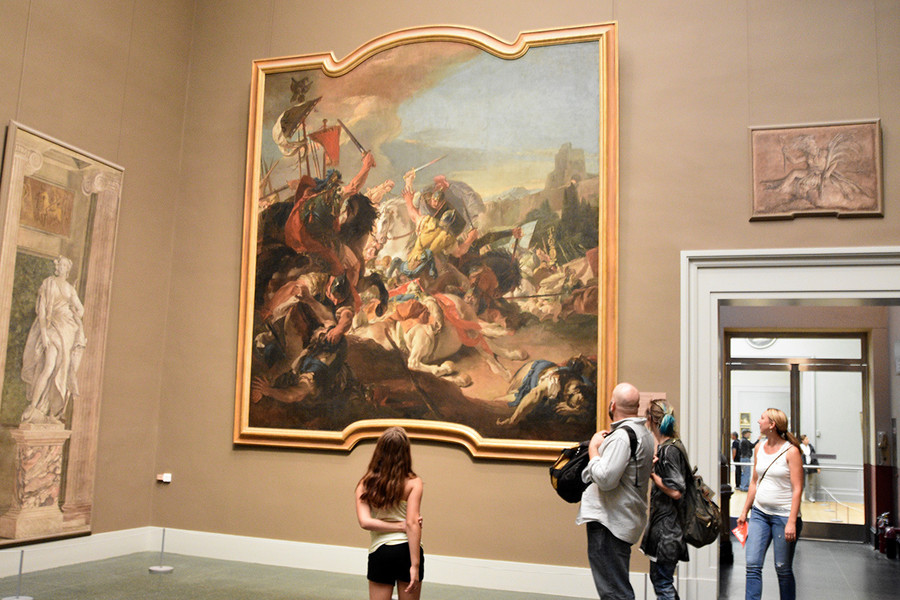 Один из крупнейших художественных музеев мира - Нью-йоркский Метрополитен-музей