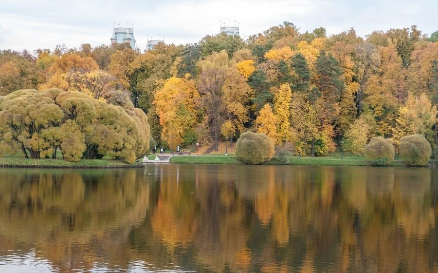 Осень в Царицыно