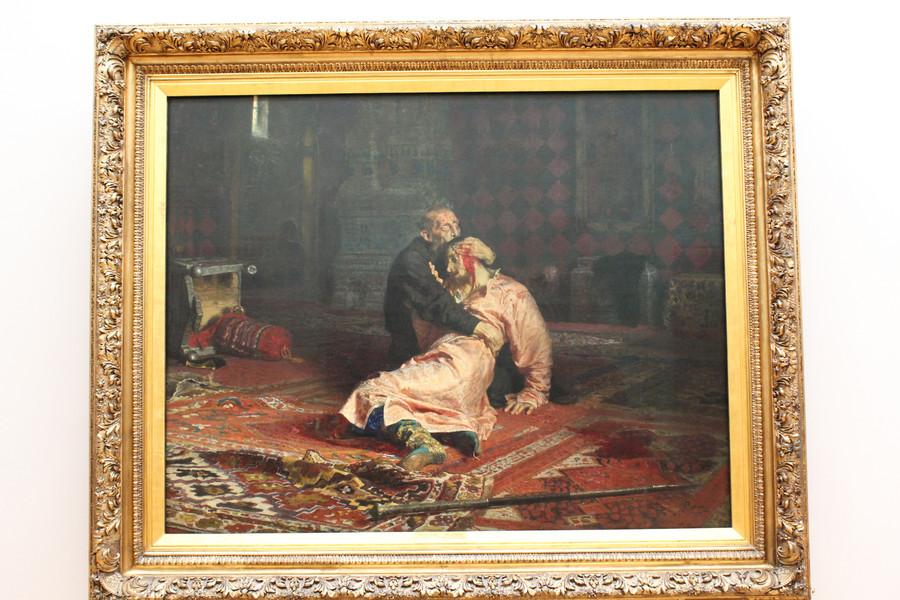 Посещение Третьяковской галереи