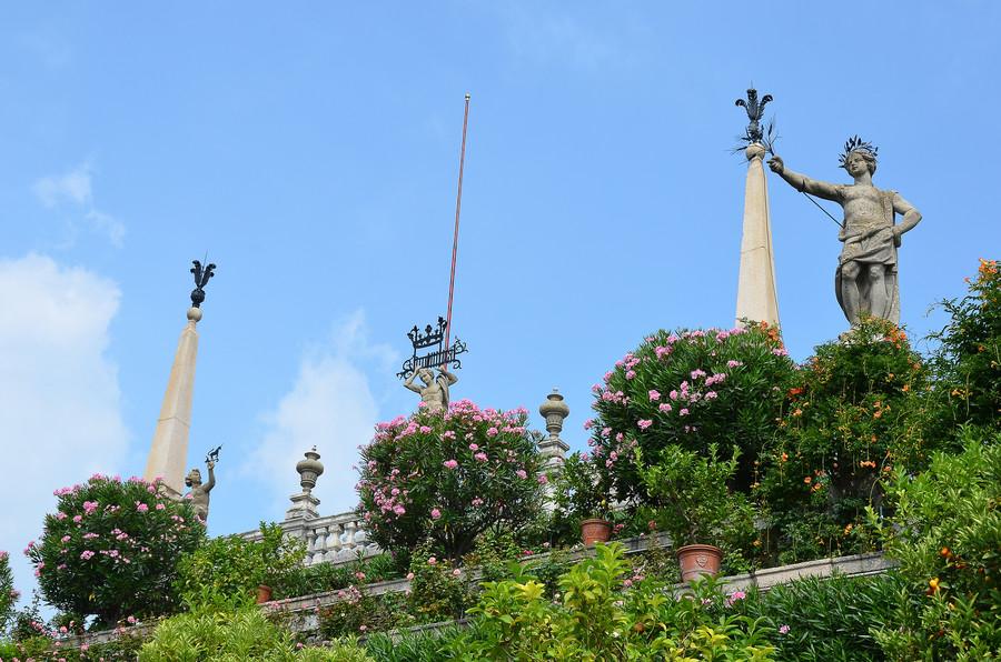 Дворец и сады Борромео