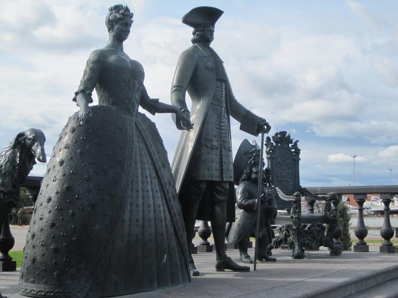 Санкт-Петербург. Стрельня. Дворец Петра I и Константиновский дворец