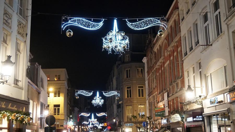 Брюссель перед рождеством