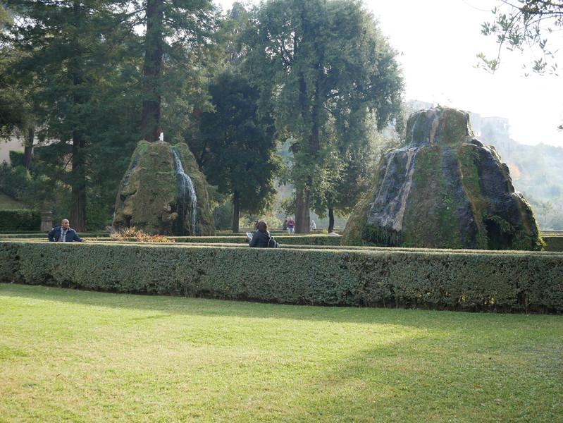 Вилла д'Эсте в Тиволи. Дворец и сад