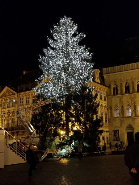 Старый город, Прага. Приближение праздника