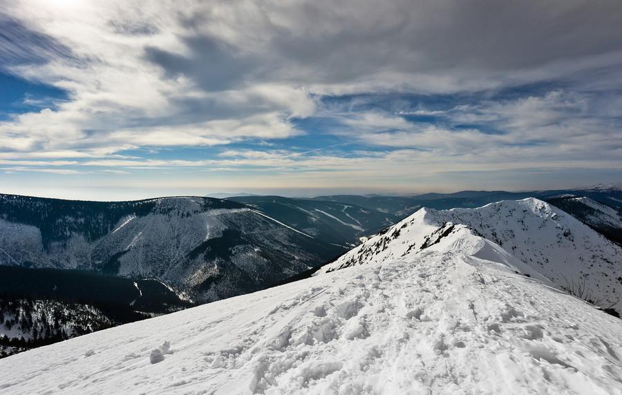 Гора Снежка. Чешский национальный парк Крконоше
